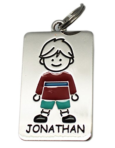 Ganz Kids Tag Charms - My Kids Keyring and Necklace - JONATHAN - 1