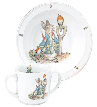 Beatrix PotterTM Toddler Dish Set, in Garden - 1