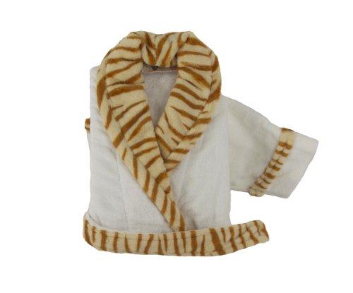Plush Tiger Print Toddler Robe (12 Month) - 1