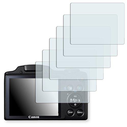 6-x-golebo-semi-matt-pellicola-protettiva-per-canon-powershot-sx510-hs-antiriflesso-montaggio-molto-