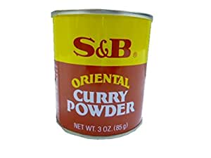 S&B Curry Powder, Oriental, 3 oz (85 g)