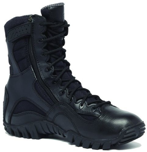 Tactical Research TR 960Z Black Khyber side zipper Tactical boot-8-R