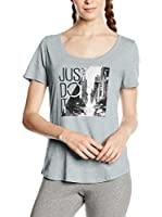 Nike Camiseta Manga Corta Tee-Scoop Photo Jdi (Gris Claro)