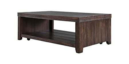 Rectangular Coffee Table with Casters