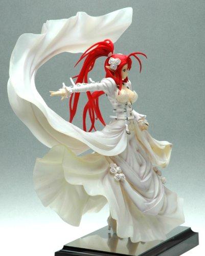 Jingai Makyo : Ignis In White Dress 1/7 Scale PVC Figure
