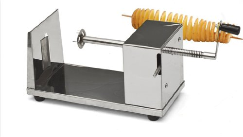 Manual Stainless Steel Twisted Potato Slicer Spiral Vegetable Cutter French Fry