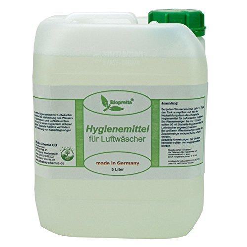 5 Liter Kanister Hygienemittel für Luftwäscher Luftreiniger Luftbefeuchter Raumklimaverbesserer Venta Beurer DeLonghi Miele Aclimat Biffinet Melitta