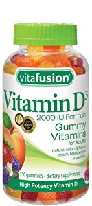 Vitafusion Vitamin D3 Gummy Vitamins, 150 Count
