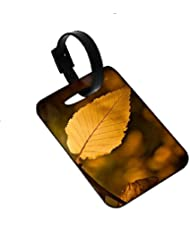 Snoogg Roots Of Tress Designer Luggage Tags Premium Quality Card Tags - Great For Travel