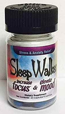 SleepWalker 20ct. Bottle - Sleep Walker - Euphoria, Energy, Mood Enhancement! Carrier to shipping international usps, ups, fedex, dhl, 14-28 Day By Dragon Shopping by Dragon Shopping