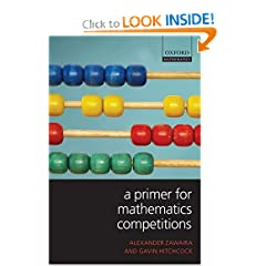 Book Cover Primer for Math Competitions