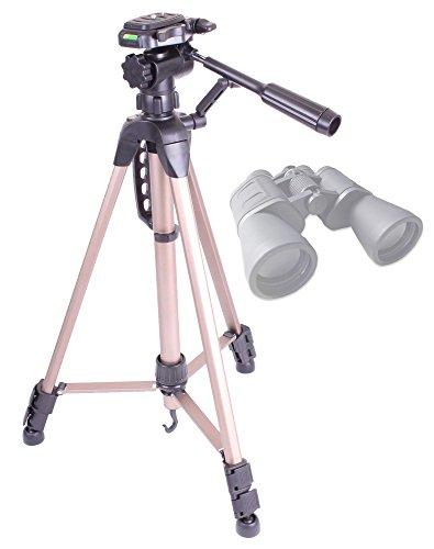 Duragadget High Quality Extendable Collapsible 589-1145Mm Tripod (Binocular Adaptor Required) For Serious User 10X50 Binoculars, Celestron 71008 25X70 Skymaster Porro Prism Binoculars & Nikon Aculon A211 16X50 Binoculars