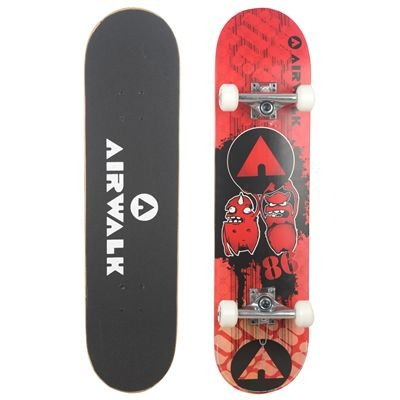 Airwalk Pro Skateboard Red Monsters -