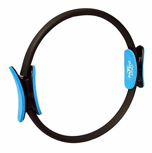 PhysioWorld - Anello di resistenza per pilates, doppia impugnatura
