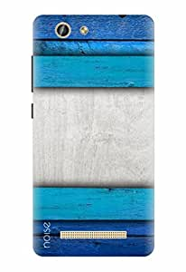 Noise Designer Printed Case / Cover for Gionee F103 Pro / Patterns & Ethnic / Blue Ombre