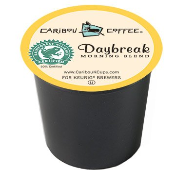 Caribou Coffee Daybreak Morning Blend 80 K-Cups