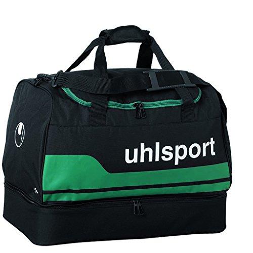 uhlsport, Sacca per giocatori e sportivi linea basic, Multicolore (Schwarz/Lagune), M