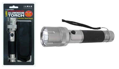 Lloytron- High Power 3W Led 3D Aluminium Torch