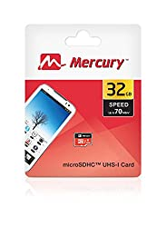 Mercury 32GB Micro SD Memory Card