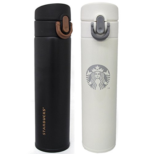 Starbucks スターバックス タンブラー 水筒 保温 380ml クリーム 並行輸入品 VITA685-WH