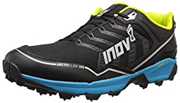 Inov-8 Arctic Claw 300 Trail Running Shoe, Black/Blue/Silver/Lime, 6 C US