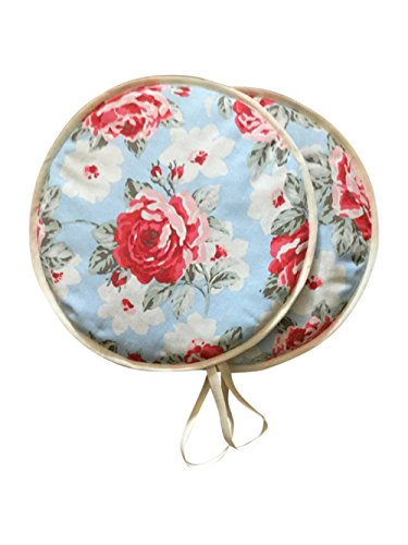 Pair of Cath Kidston New Rose Kitchen Range Cooker Hob Lid Covers Hob Top Pads