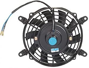 """PROCOMP 7"""" INCH ELECTRIC AUTO COOLING FAN 12 VOLT CURVED BLADE"""