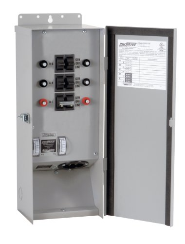 Reliance Controls R30216B 6-Ciruit Outdoor Transfer Switch, 125/250-Volt