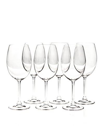Martin Berasategui Set De 6 Copas De Vino Cristal De Bohemia 580 Cl.