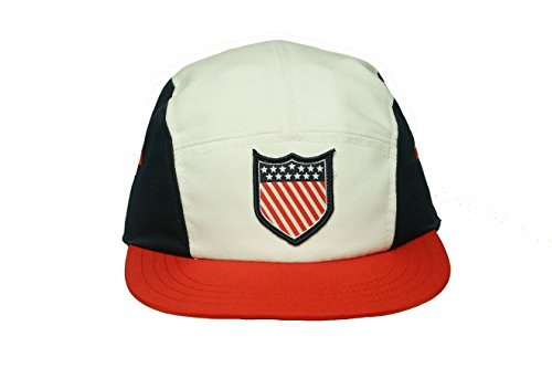 LRG Men's Lifted National Anthem 5 Panel, White, One Size (Lrg Panel Hat compare prices)