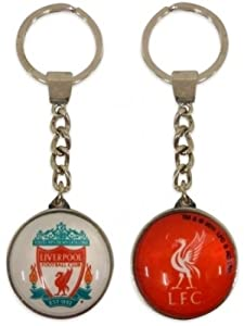 Liverpool FC Crystal Crest Keyring  from Liverpool FC