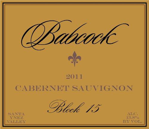 2011 Babcock Cabernet Sauvignon Block 15 Santa Ynez Valley 750 Ml