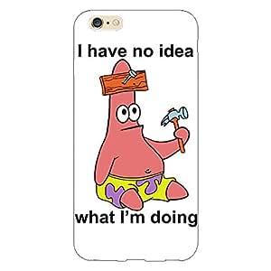 Jugaaduu Spongebob Patrick Back Cover Case For Apple iPhone 6 Plus