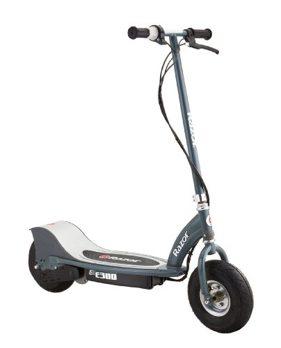 Razor E300 Electric Scooter (Matte Gray, 41 x 17 x 42-Inch)