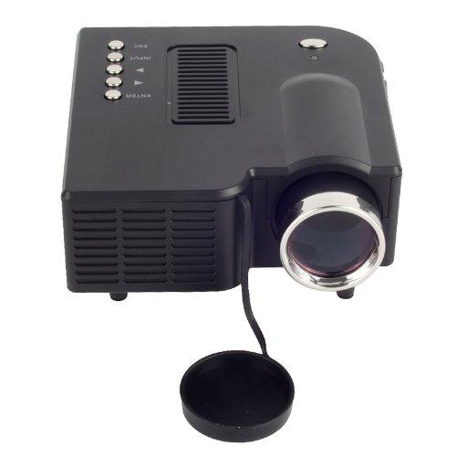 Generic Hdmi Portable Mini Led Projector Home Cinema Theater Av Vga Usb (Black )