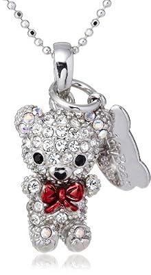 [テディベア] Teddy Bear ペンダント&ストラップ 赤ちゃんシリーズ カラー:ホワイト(WH) Teddy-05WH