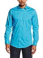 Venti Camisa Hombre (Azul Océano)