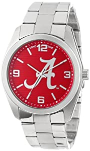 Game Time Unisex COL-ELI-ALA2 Elite University of Alabama A Logo 3-Hand Analog Watch by Game Time