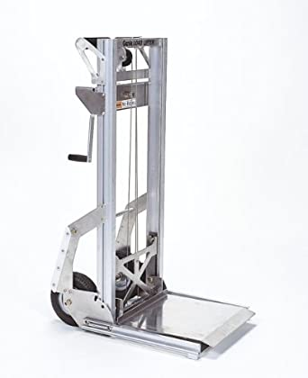 Genie Load Lifter, LL, Portable, Aluminum Manual Lift, 200lbs Load Capacity,  Lift Height 5' 7""