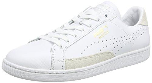 puma-match-74-unisex-adults-trainers-white-white-white-gold-10-65-uk-40-eu