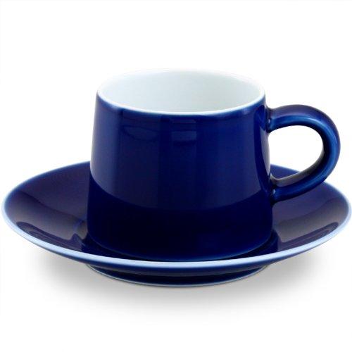 白山陶器 M型シリーズ M型カップ&ソーサー ブルート(150ml)