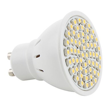 Luo Gu10 3528 Smd 60-Led 200Lm Warm White Light Bulb 230V