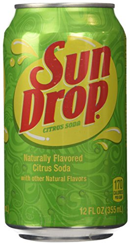 Sun Drop Citrus Soda - 12 CT
