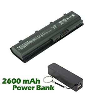 Battpit™ Laptop / Notebook Battery Replacement for HP Pavilion dv7-4025ew (4400 mAh) with 2600mAh Power Bank / External Battery for Smartphone.
