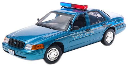 Greenlight 1:18 Ford Crown Victoria 2008 *Twilight* Forks Washington Police