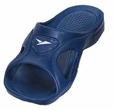 Men's Rubber Slide Sandal Slipper Comfortable Shower Beach Shoe Slip On Flip Flop