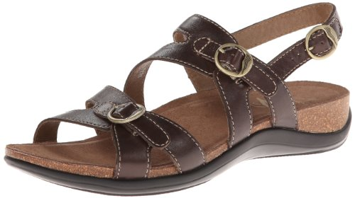 Dansko Women'S Jameson Dress Sandal,Chocolate,39 Eu/8.5-9 M Us front-549217