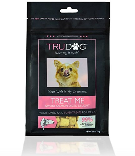 Real Meat Organic Dog Treats - Treat Me: Savory Salmon Diced Delight Freeze-Dried Raw Super Treats (2.5oz) - 100% All Natural Treats Support Healthier Teeth and Gums, Skin and Coat, and A Boosted Immune System (Instinct Dehydrated Dog Food compare prices)