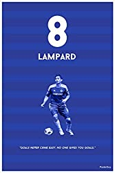 PosterGuy Fifa GOALS NEVER COME EASY NO ONE GIVES YOU GOALS Lampard Poster