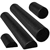 Black High Density Foam Rollers - Extra Firm